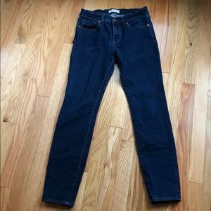 Madewell Skinny Ankle Jeans size 27 Dark Wash